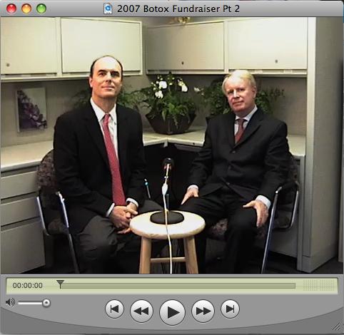 Dr. Weiss interviewing former Allergan CEO, David Pyott.